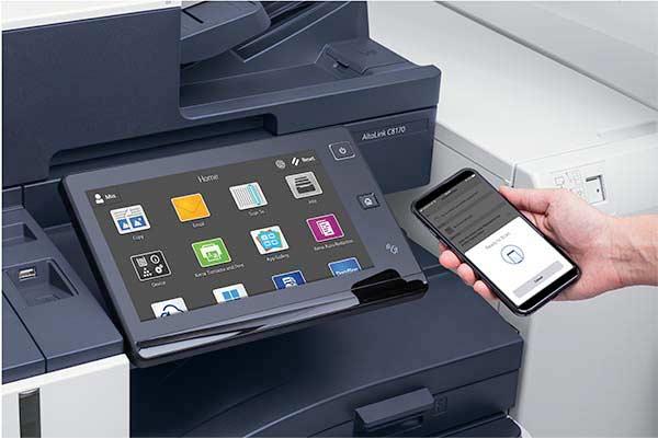 votre imprimante aussi est sans contact