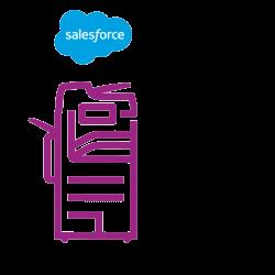 Altalink icône violette Salesforce