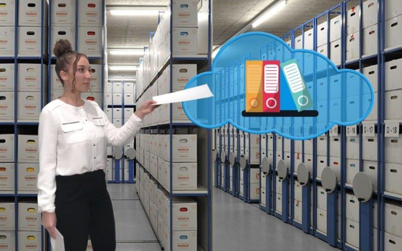 Dématérialisation des documents archivage