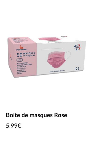 Masques-roses